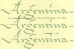 Cover - Argentina Groundbreaking Brochure