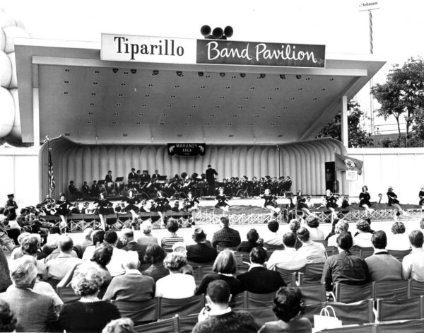 Band performs in Tiparillo Band Pavilion