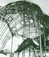 Jordan Pavilion construction