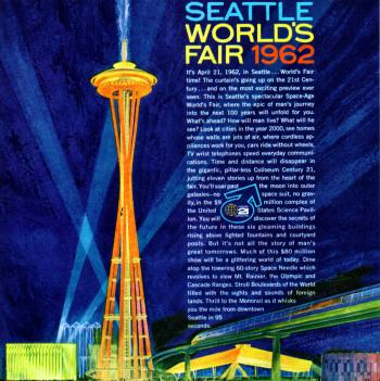 Advertisement, 1962 Seattle World's Fair