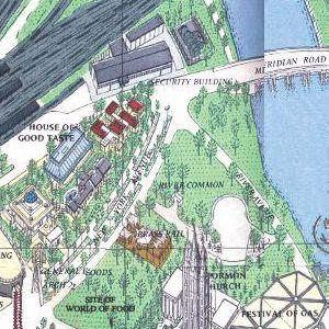 1964 New York World\'s Fair 1965 - Maps/1964 Official Souvenir Map ...