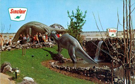 stuff from the park: Sinclair Dinoland