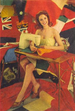 Flag Sewing Photo