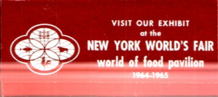 World of Food Hershey's wrapper - back